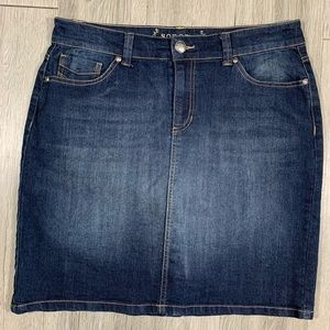 🎈Sonoma Modern Fit Denim Skirt size 12